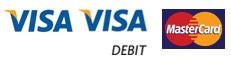 Visa | Visa Debit | MasterCard | Data Yorkshire Private Hire, Pontefract